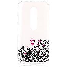 Ultra Slim Funda de TPU Silicona para Motorola Moto G G3(3rd Gen, 2015) - Yihya La Piel de TPU Gel Silicona Protector Colorful Pattern Design Back Carcasa Case Cover--Color 12