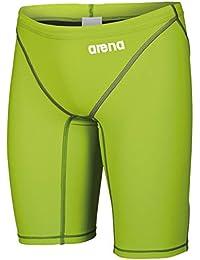 Arena Powerskin ST 2.0 Jammer - Bañador de Competición para Hombre, Verde (Lime Green