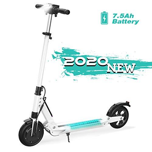 GeekMe Elektro Scooter Cityroller Bis zu 30 km/h|Faltbarer Elektroroller mit LCD-Display|7.5A Li-Ion Akku|Maximale Belastung 120 kg Für Erwachsene und Kinder