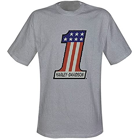 Harley Davidson–Camiseta de Number One (en S)