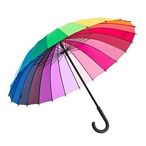 Moma pantalla color wheel–Paraguas de arcoíris 102cm diámetro