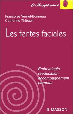 LES FENTES FACIALES. Embryologie, rééducation, accompagnement parental