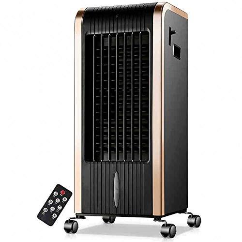 SCDFS Ventilateur De Bureau Climatisé DomestiqueIntelligent avecGrand Vent De Refroidissement par Air avec Commande À Distance avec Roue