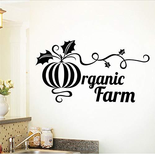 Smydp fresco alimenti biologici agriturismo ristorante supermercato verdure cucina wall sticker decalcomanie cucina home decration poster murale
