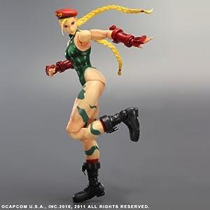 Figurine 'Super Street Fighter IV' Play Arts Kai – Cammy [Importación francesa]