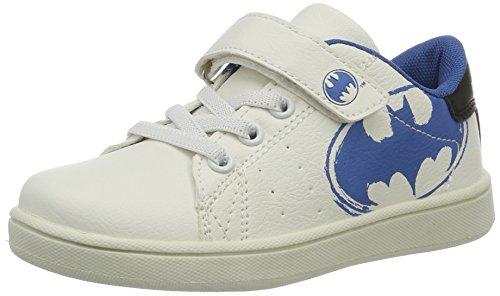 Batman Bat Marco, Scarpe da Tennis Bambino Weiß (White/Blue)