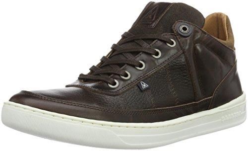 Gaastra Risso Mid TMB, Sneakers Basses Homme - Marron - Marron foncé, 42