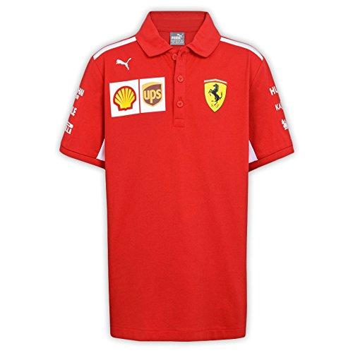 Master Lap Polo Scuderia Ferrari 2018 Equipo XXL