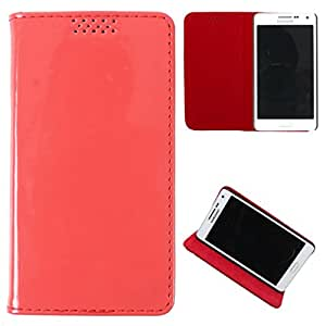 DooDa PU Leather Flip Case Cover For Karbonn S5+ Titanium