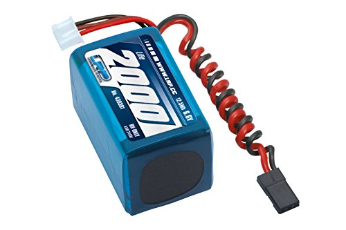 LRP Electronic 430301 - LiFePo 2000 RX-Pack 2/3A Hump, RX-only, 6.6V Rx-hump Pack