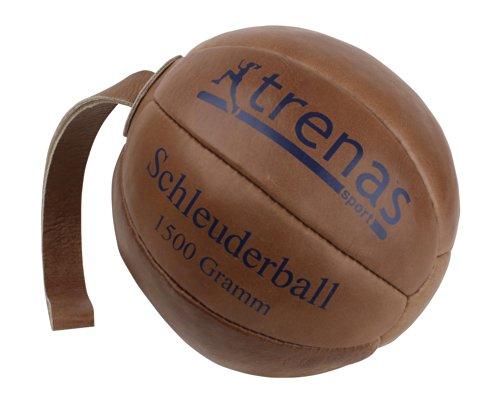 Preisvergleich Produktbild Original TRENAS Schleuderball aus Leder - 1, 50 KG