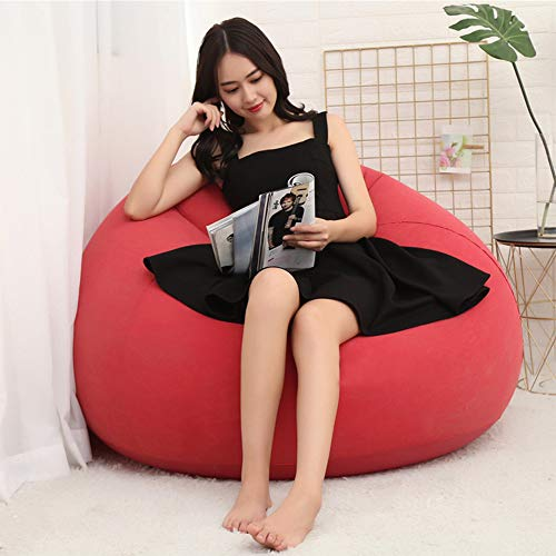 Zhanghaidong Sofá De Fútbol Inflable Perezoso Pequeño Apartamento En Casa Sofá Solo Ocio Entretenimientobean Bag Recliner Gaming Bean Bag Interior Y Exterior Beanbag Chair