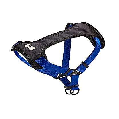 Bunty Soft Comfortable Breathable Fabric Dog Puppy Pet Adjustable Harness Vest - Black - Small 7
