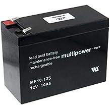 Gel AGM Batterie Xtreme 12V 10Ah zyklenfest wartungsfrei ersetzt 12Ah 14Ah 15Ah