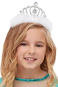 Smiffys 52129 - Tiara para niña (talla única), color plateado