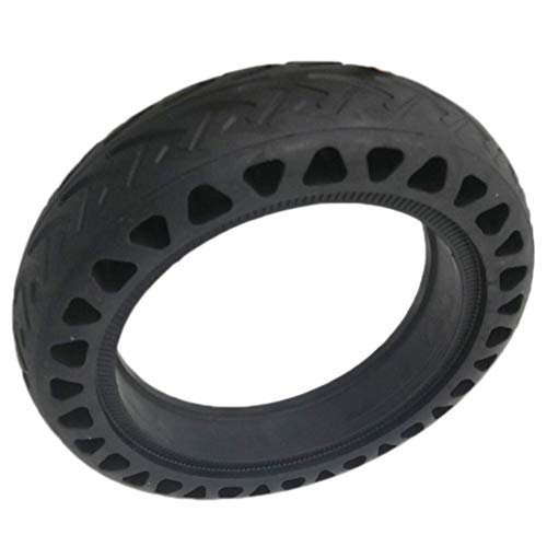 Preisvergleich Produktbild Huaqiang Solid Tire Tubeless Drilled Scooter Replacement Tire for Xiaomi Mi M365 Electric Scooter 8.5 Inches, for Mijia Scooter Replacement Tire