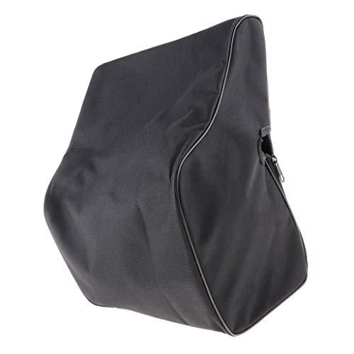 kesoto Akkordeon Rucksack Tasche Gigbag Koffer Case Gig-Bag für 48-120 Bass, Schwarz - 24-32 Bass