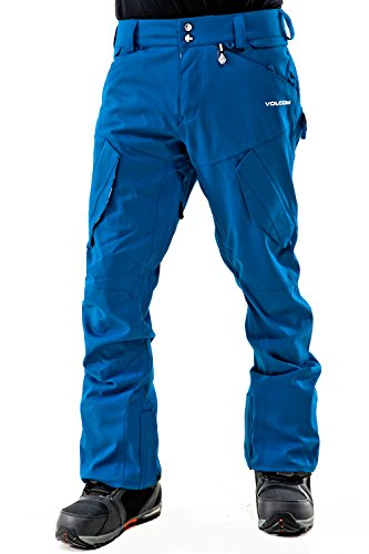 Volcom Herren Snowboard Hose Machine Pants (Hose Orange Volcom Snowboard)