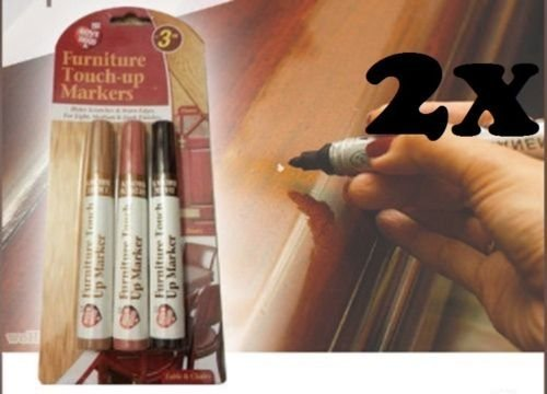 2-x-furniture-touch-up-marker-pen-wood-floor-scratch-repair-dark-and-light-brown
