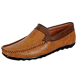 Fausto KF-920-44 Tan Mens Loafers