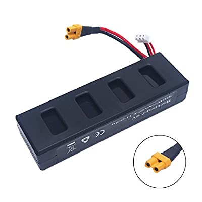 YUNIQUE UK 1 Piece 1800mah 25C Li-poly Battery MJX B3 Bugs 3 RC Drone Spare Parts