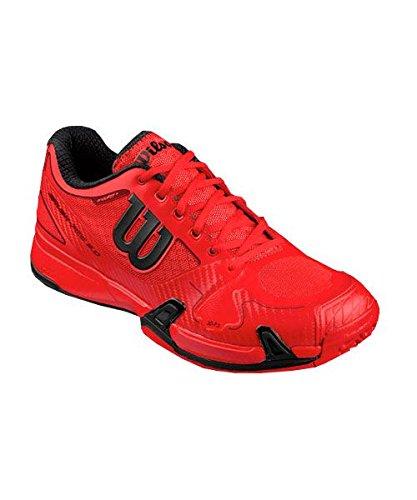 Wilson Herren Rush Pro 2.0 Red Turnschuhe Rot
