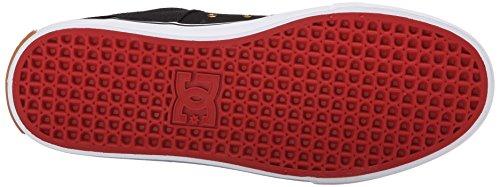 DC Shoes Lynx Vulc X Ben Davis Toile Chaussure de Basket Black-Red
