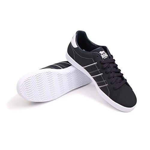 Lonsdale homme ovale Chaussures de sport Chaussures de sport de loisirs chaussures sneakers schnuer Bleu - Marineblau/Weiß