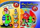 Mini-Spaßfiguren aus Styropor, m. Beigabe 'Lumpis Spaßfamilie, Ausmalbilder für's Fenster'