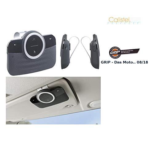 Callstel Freisprechanlage Auto: Premium-Kfz-Stereo-Freisprecher, Bluetooth, Siri- & Google-kompatibel (Freisprechanlage, Bluetooth)