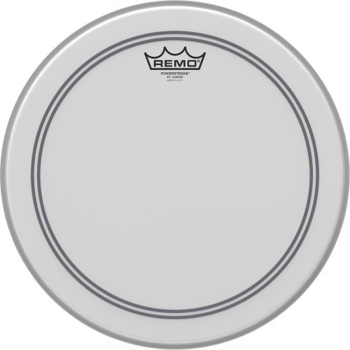 Remo 14 Zoll Powerstroke 3 coated Snare Test