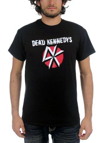 Dead Kennedys, sottolineando-Maglietta con Logo, da uomo, colore: nero Nero  nero