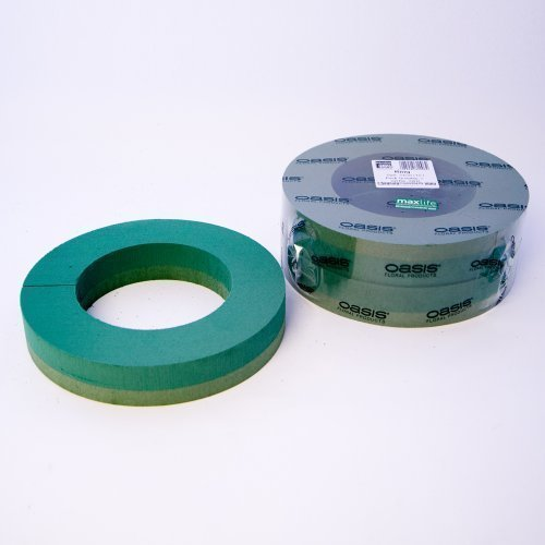 2 Stück, Oasis Foam Kranz Ringe 30.48 cm (31 cm)