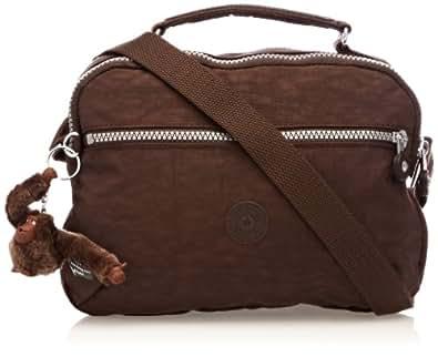 Kipling Women's Yelinda Cross-Body Bag K15338740 Espresso Brown