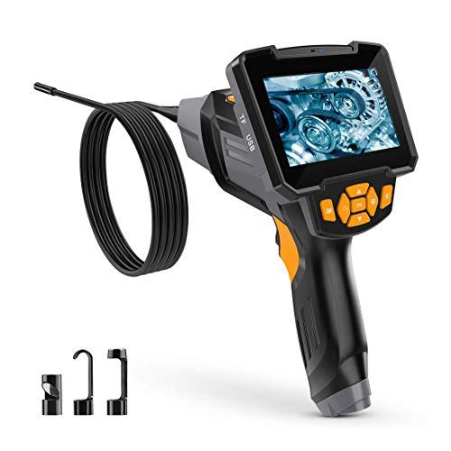 Endoskopkamera Digital Inspektionskamera Hand Endoskop Kamera Wasserdicht 4,3 Zoll-LCD-Bildschirm 1080P HD Boreskop Video Kamera für Lüftungsrohr Maschinenausrüstung,10M