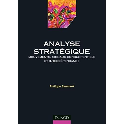 Analyse stratégique : Mouvements, signaux concurrentiels et interdépendance