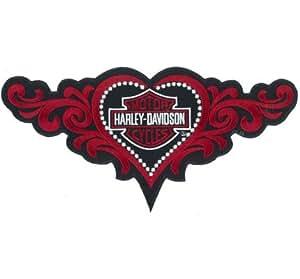Coeur de tatouage de moto tRIBAL racingbike chopper lady biker écussons patch patch