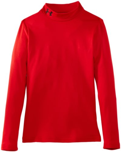 Under Armour Kinder Sweatshirt Evo CG Fitted Mock, rot 600, 128