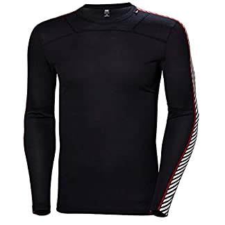 Helly Hansen HH Lifa Crew, Performance Base Layer for Men, Lightweight Insulation and Comfort 12