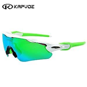 0f02ee3f9b2e ... K06708   Kapvoe Men Sport Sunglasses Cycling Glasses Bicycle Bike  Fishing Driving