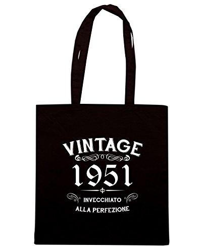Cotton-Island-Sac-shopping-T0895-1951-invecchiato-alla-perfezione-personalizza-con-tuo-anno-vintage-Taille-Capacita-10-litri