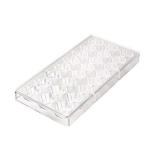 Molde policarbonato forma concha mar 3D 24 1, bandeja