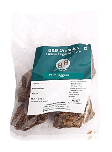 B&B Organics Palm Jaggery, 1kg