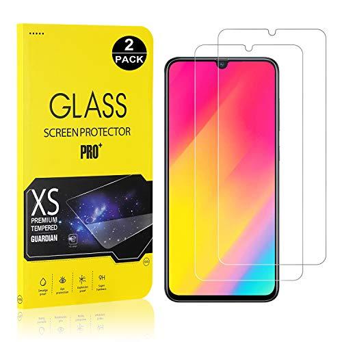 Galaxy A70 Screen Protector, Bear Village® Tempered Glass Screen Protector, 9H Hardness Screen Protector Film for Samsung Galaxy A70, 2 Pack