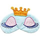 Imported Cartoon Long Eyelash Sleeping Beauty Crown Sleeping Eye Mask Eyeshad