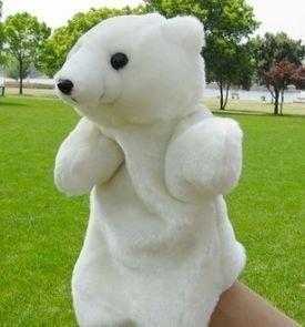 Marioneta lindo marioneta oso polar oso
