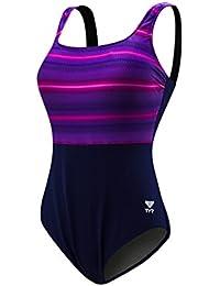 c3df1425055b8 TYR Women s Tramonto Scoop Neck Controlfit Swimming One Piece