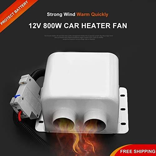 Preisvergleich Produktbild periwinkLuQ Auto-Heizung Entfroster,  600 / 800 W,  12 V,  für den Winter,  Auto-Heizung,  Kühlventilator,  Abtauen von Windschutzscheibe,  Fenster,  2 Luftauslässe,  schnelle Heizung,  Metall,  12V 600W
