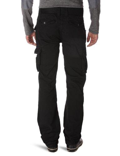 Schott Nyc 70Pkr - Pantalon - Cargo - Homme Noir