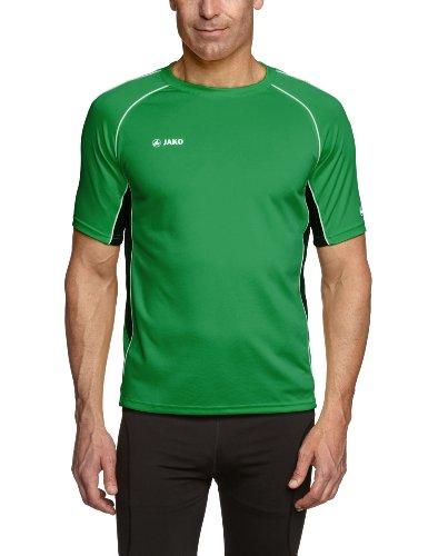 JAKO Herren T-Shirt Attack 2.0 Sportgrün/Schwarz